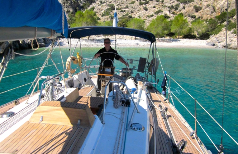 Vuonna 2012 purjehtimassa