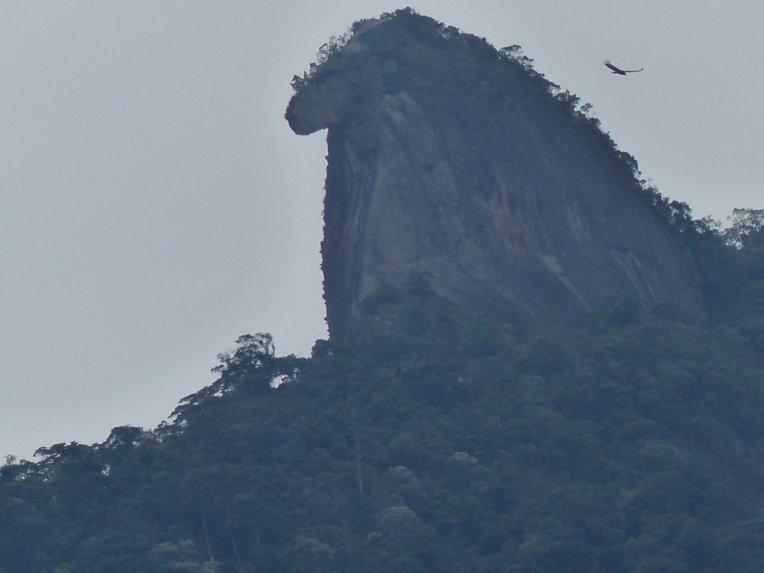 Vuoressa erikoinen muoto