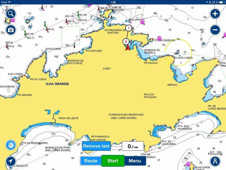 Veneelle selvittyäni tutkin kartasta uskomatonta viidakkoseikkailuani ja totesin matkaakin tulleen yli kilometrin!