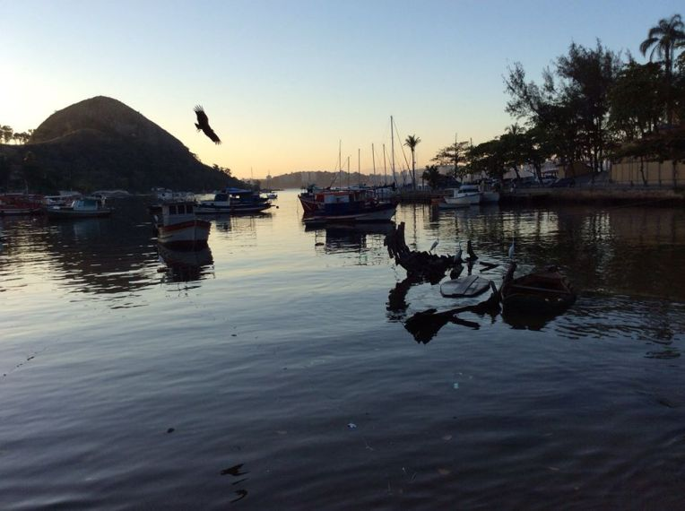 Brasiliassa kaikki kalastajakylät ovat erilaisia. Tässä yksi niistä.